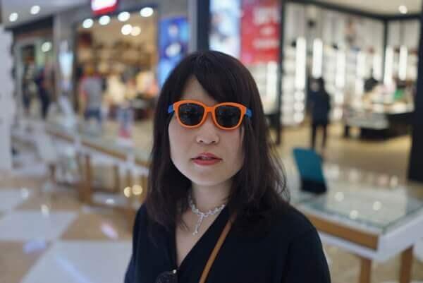 眼鏡サングラスのフレーム調整