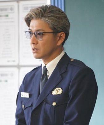 教場キムタクメガネ