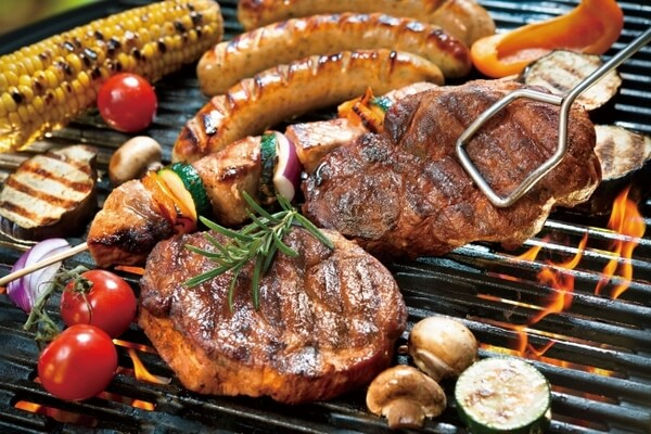 バーベキュー肉野菜