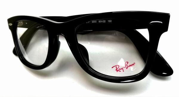 レイバンウェイファーラメガネはコレ!RX5121F(RB5121F)サイズや型番、購入方法を解説