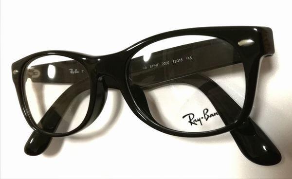 レイバンニューウェイファーラーメガネはコレ!RX5184F(RB5184F)のサイズや型番、購入方法を解説