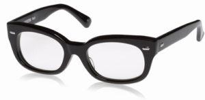 エフェクタ―メガネ「ファズ fuzz」眼鏡BKブラック