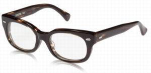 エフェクタ―メガネ「ファズ fuzz」眼鏡COコニャック