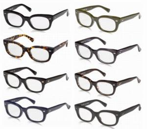 エフェクタ―メガネ「ファズ fuzz」のカラーはどのくらいあるのか