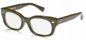 エフェクタ―メガネ「ファズ fuzz」眼鏡KHカーキ