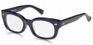 エフェクタ―メガネ「ファズ fuzz」眼鏡NVネイビー