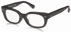 エフェクタ―メガネ「ファズ fuzz」眼鏡WDウッディ黒木目加工