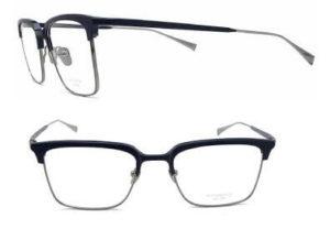 増永眼鏡MUSUNAGA「WALDORF」メガネ♯35ダークネイビーグレー正面横から