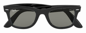 インスタキムタク着用メガネ「RB2140F 901/5F 52-22」濃いレンズカラーの時