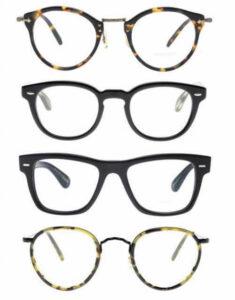 オリバーピープルズのメガネ
